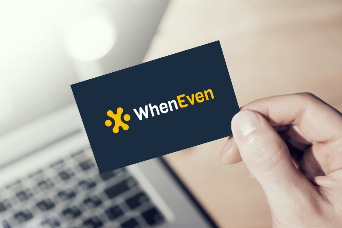 Sample branding #3 for Wheneven