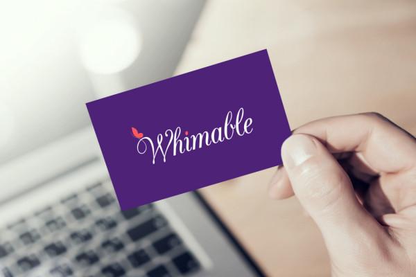 Sample branding #3 for Whimable