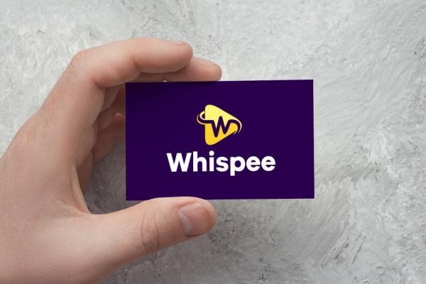 Sample branding #2 for Whispee