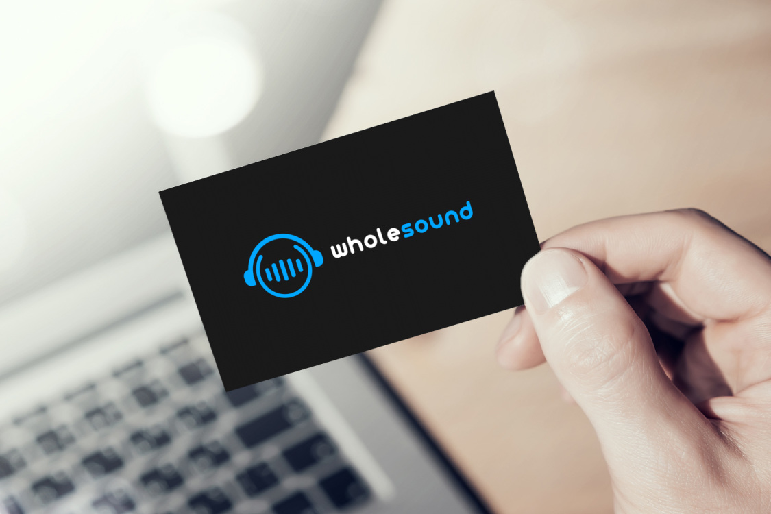 Sample branding #3 for Wholesound