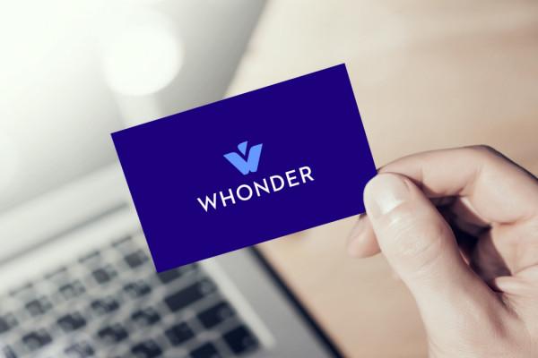 Sample branding #1 for Whonder