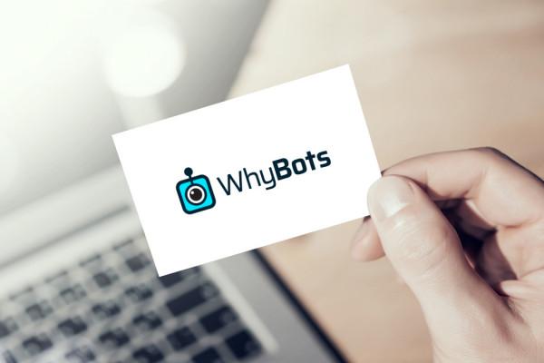 Sample branding #1 for Whybots