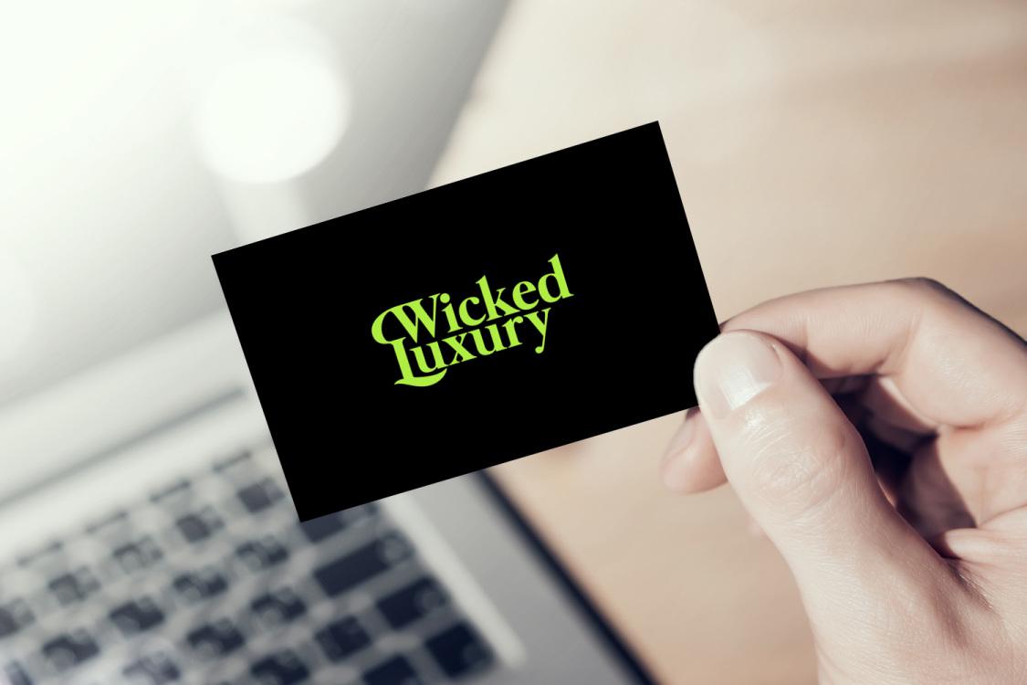 Sample branding #1 for Wickedluxury