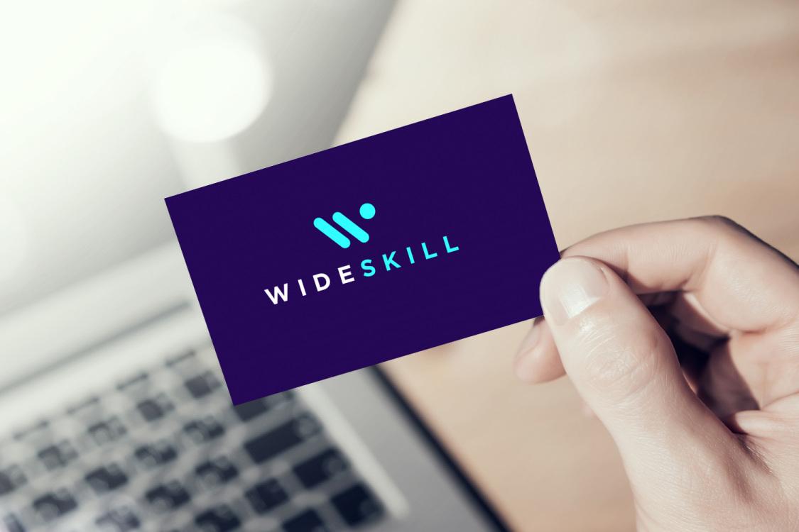 Sample branding #3 for Wideskill