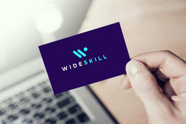 Sample branding #1 for Wideskill