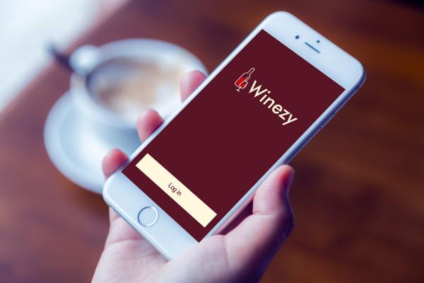 Sample branding #2 for Winezy