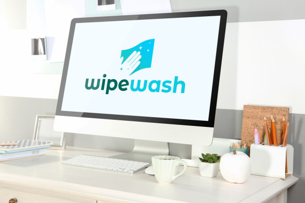 Sample branding #3 for Wipewash
