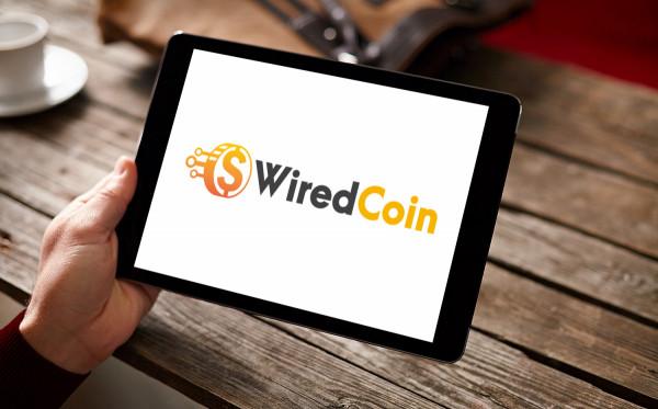 Sample branding #1 for Wiredcoin
