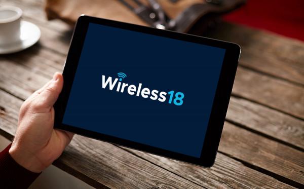 Sample branding #1 for Wireless18