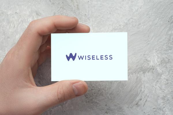 Sample branding #1 for Wiseless