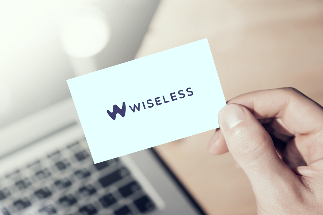 Sample branding #1 for Wiseless