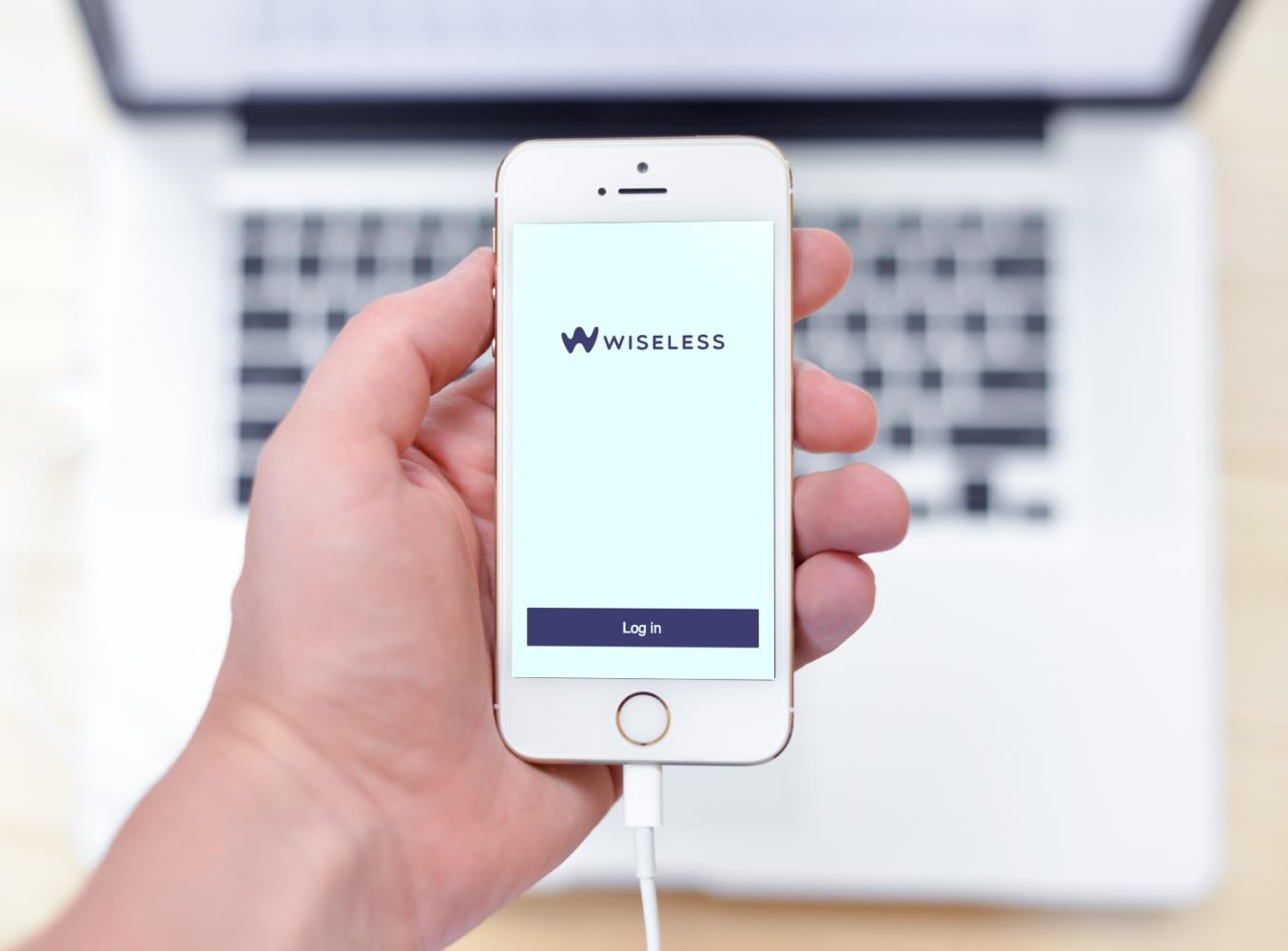 Sample branding #3 for Wiseless