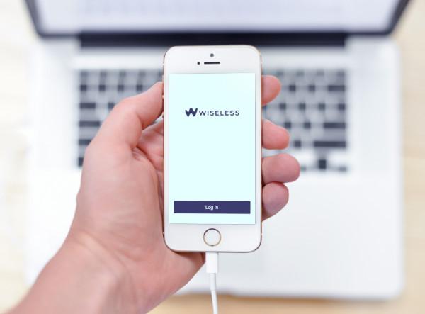 Sample branding #2 for Wiseless