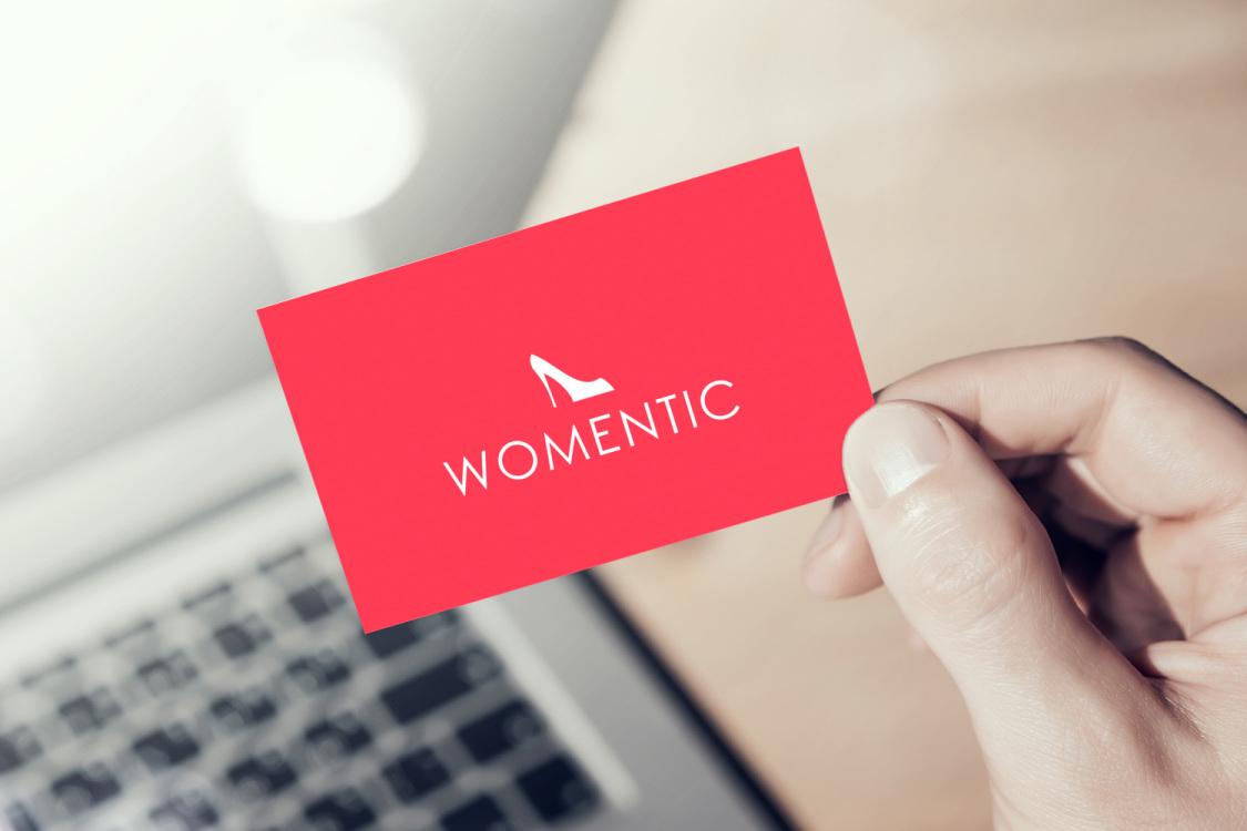 Sample branding #1 for Womentic