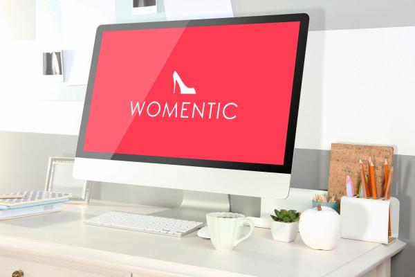 Sample branding #3 for Womentic
