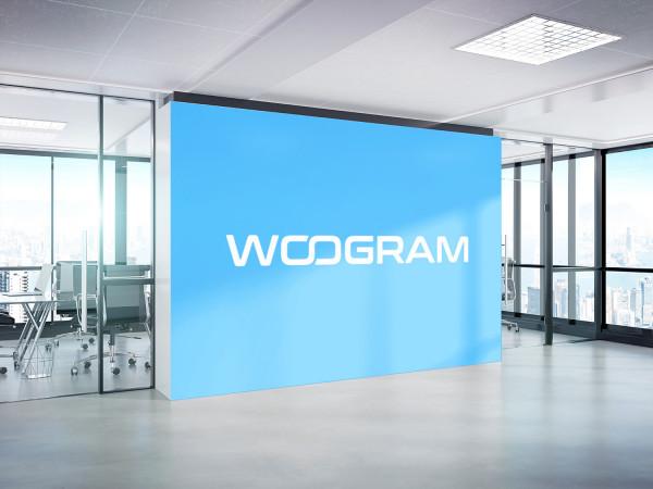 Sample branding #1 for Woogram