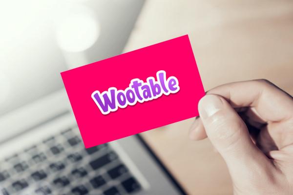 Sample branding #1 for Wootable