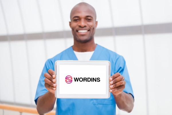 Sample branding #3 for Wordins