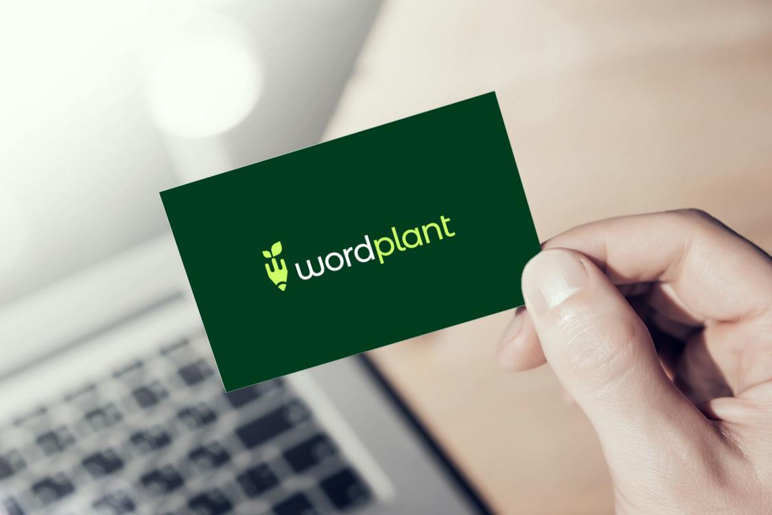 Sample branding #3 for Wordplant