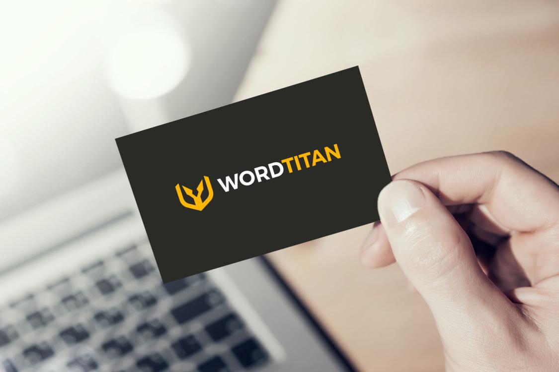 Sample branding #3 for Wordtitan