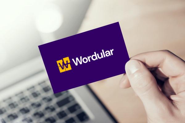 Sample branding #2 for Wordular