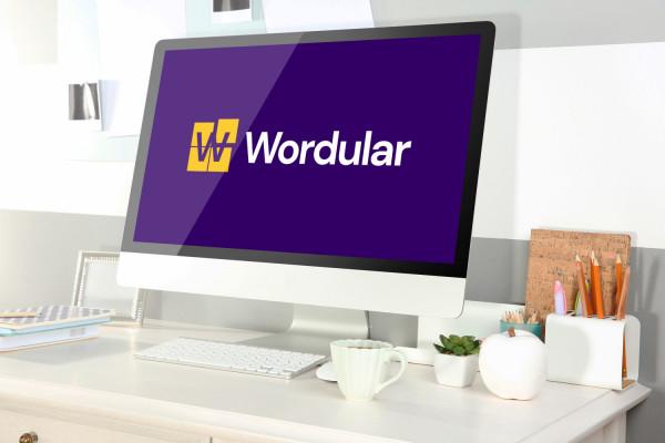 Sample branding #1 for Wordular