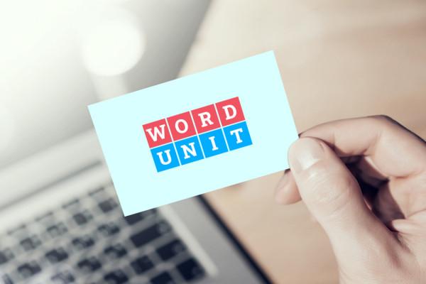 Sample branding #1 for Wordunit