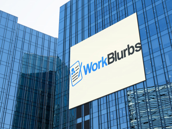 Sample branding #1 for Workblurbs