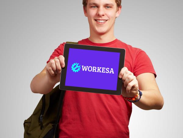 Sample branding #3 for Workesa