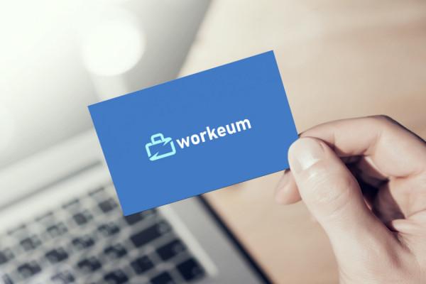 Sample branding #2 for Workeum