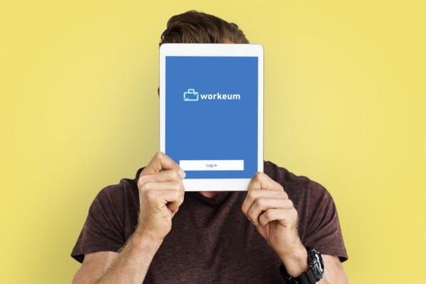 Sample branding #1 for Workeum