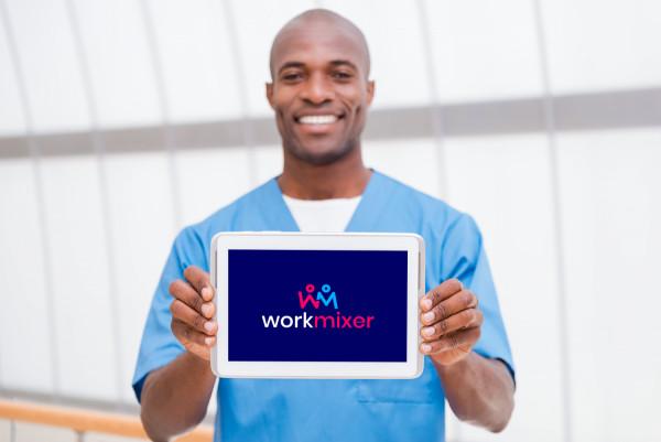 Sample branding #2 for Workmixer