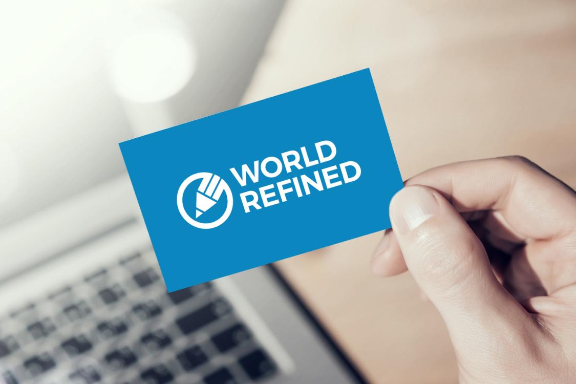 Sample branding #1 for Worldrefined