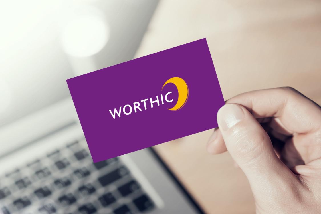 Sample branding #2 for Worthic