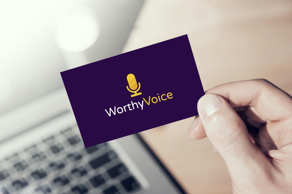 Sample branding #3 for Worthyvoice