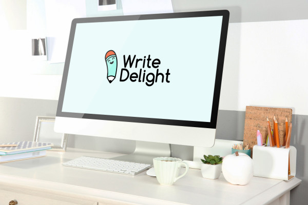 Sample branding #2 for Writedelight