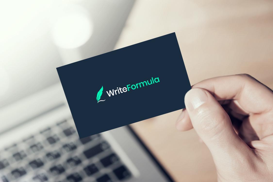 Sample branding #1 for Writeformula