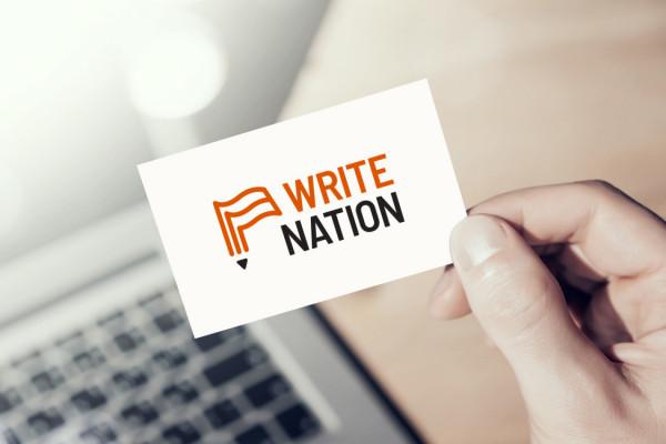 Sample branding #2 for Writenation