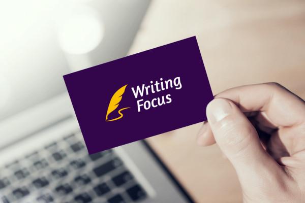 Sample branding #3 for Writingfocus