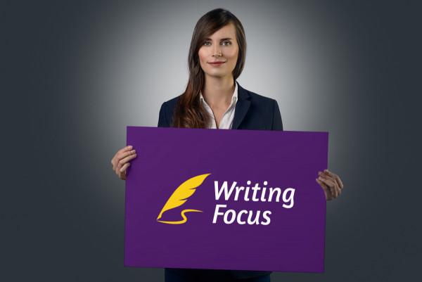 Sample branding #2 for Writingfocus