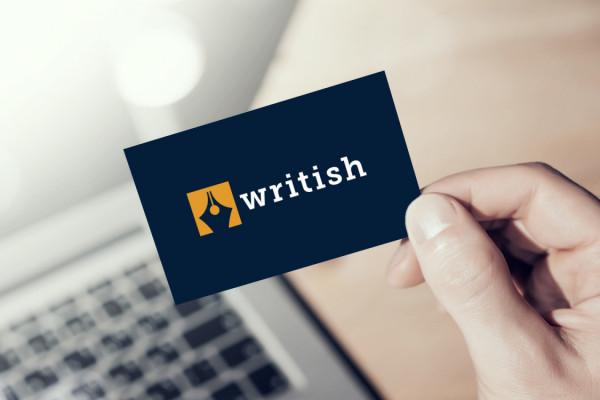 Sample branding #2 for Writish