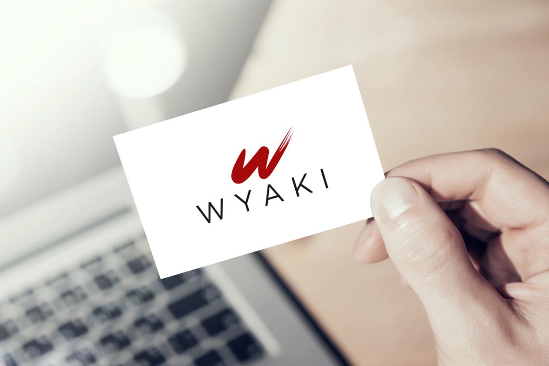 Sample branding #2 for Wyaki