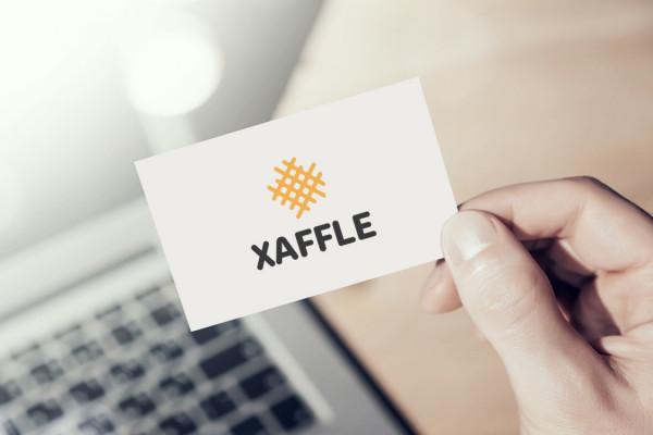Sample branding #2 for Xaffle