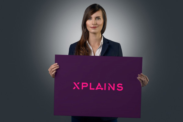 Sample branding #1 for Xplains