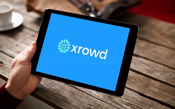 Sample branding #2 for Xrowd