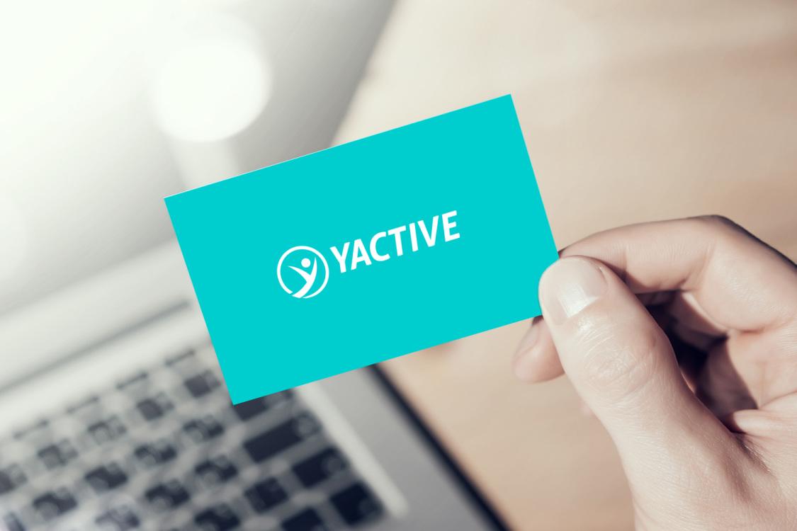 Sample branding #2 for Yactive