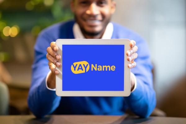 Sample branding #1 for Yayname