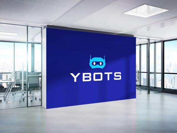 Sample branding #3 for Ybots