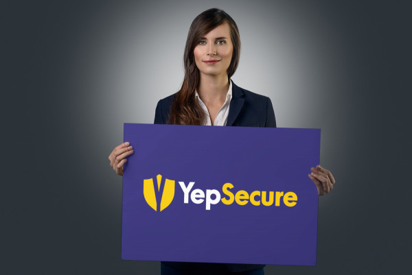 Sample branding #2 for Yepsecure