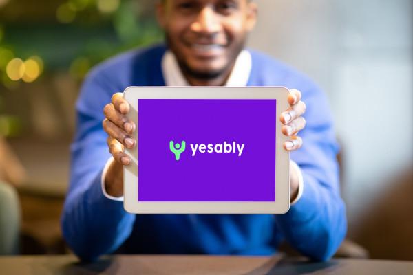 Sample branding #1 for Yesably